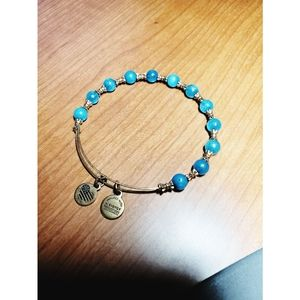 Alex & Ani Crackle Bead Bracelet